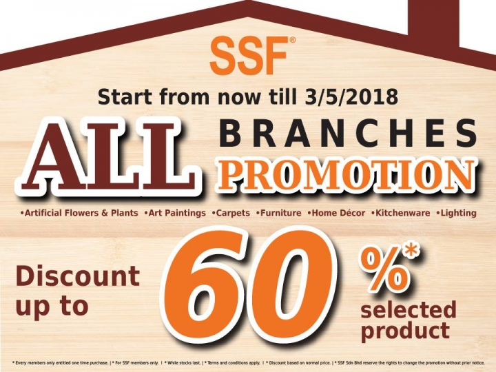Ssf All Branches Promotion
